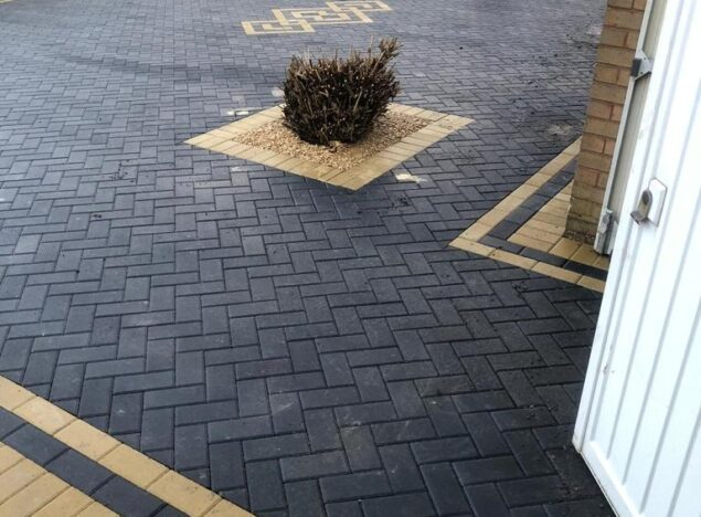 block paving driveway in stourport on severn