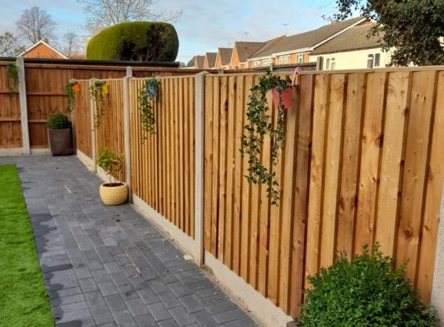 new fencing in stourport